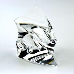 Transparenter Ring in futuristischer Form * Ring futuristic shape transparent acrylic