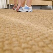 Dyeing your own carpet is an easy and inexpensive way to cover stains on your existing carpet, or to permanently change the color of your carpet to customize the look of a room. You can only dye carpets made of wool or nylon fibers; the color will not stick to carpets made from any other fiber. Do not try to dye carpets a lighter color than the...