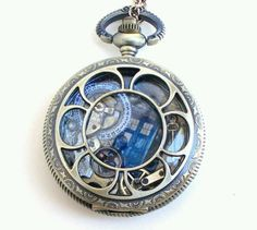 gorgeous dr who pocket watch