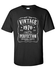 45th Birthday Gift For Men and Women  Vintage by SHIRTSnGIGGLES