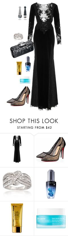 """Untitled #1292"" by alaa88 ❤ liked on Polyvore featuring Zuhair Murad, Chanel, Ross-Simons, Lancôme, Peter Thomas Roth and Sephora Collection"