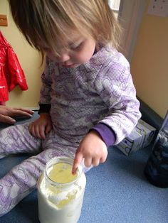 making butter with kids - science experiment #science  #kids #activities #learning #experiment
