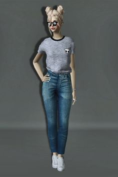 Always Sims: Simple T-Shirt