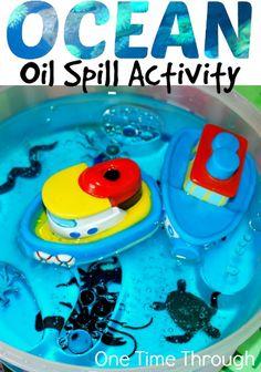 Ocean Oil Spill Activity