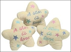 A Star Is Born Pillow for Baby's Nursery