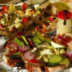Hidegtál gazdagon húsvét hétfőre Recept képpel -   Mindmegette.hu - Receptek Paste, Entertaining, Funny