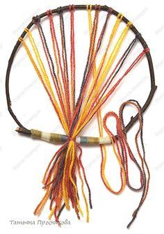 Плетение на веточках