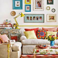 Bohemian Interiors, freedom to do whateva you like!