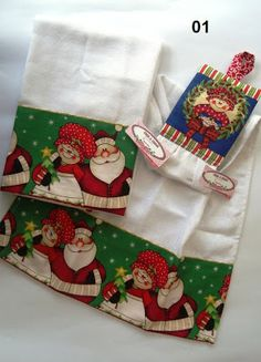 Kit pano de prato Christmas Wishes, Christmas Time, Xmas, Small Sewing Projects, Sewing Crafts, Towel Dress, Bazaar Ideas, Bathroom Towels, Christmas Decorations