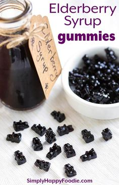 These fun Elderberry Syrup Gummies are a tasty and sweet way to get a dose of El. - Instant Pot Recipes and Tips - Health Idea Natural Home Remedies, Herbal Remedies, Health Remedies, Flu Remedies, Instant Pot, Elderberry Gummies, Elderberry Syrup For Kids, Elderberry Syrup Benefits, Natural Remedies