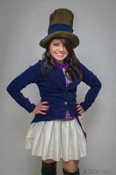 Willy Wonka Costume for Woman.                                                                                                                                                     More