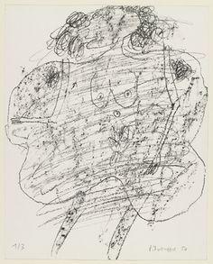 Jean Dubuffet. Woman I (Corps de dame I). 1950