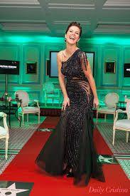 Resultado de imagem para vestidos de cerimonia 2014 micaela oliveira na pessoa de Cristina Ferreira,representante da LR.