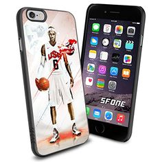 """LeBron James All Star NBA iPhone 6 4.7"""" Case Cover Protector for iPhone 6 TPU Rubber Case SHUMMA http://www.amazon.com/dp/B00WJC5EFS/ref=cm_sw_r_pi_dp_pTmovb0MZYZB6"""