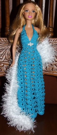 Doll in crochet