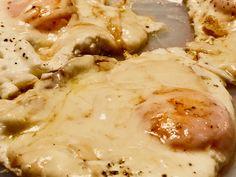 Le uova, il parmigiano e la scamorza