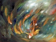 'Koi Storm I' by Danna Tartaglia