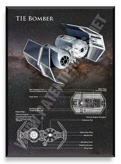 TIE Bomber, Star Wars Poster