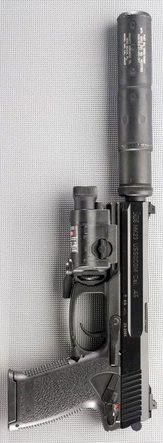 HECKLER & KOCH - HK MARK 23 (V1) 5.87IN 45 ACP HANDGUN SEMI AUTO PISTOL FIREARM BLUE 12+1RD