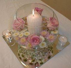 Irresistible Your Wedding Flowers Ideas. Mesmerizing Your Wedding Flowers Ideas. Candle Centerpieces, Wedding Centerpieces, Wedding Table, Diy Wedding, Wedding Flowers, Wedding Decorations, Candles, Table Decorations, Table Centers