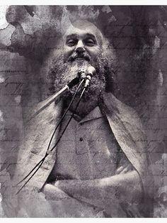 """Baba Ram Dass Spiritual Art"" Canvas Print by MysticSoulwork | Redbubble Canvas Art For Sale, Canvas Art Prints, Ram Dass, Spirituality, My Arts, Spiritual"