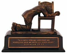 Buy Small Moments of Faith Sculpture: Praying Man in Homeware format at Koorong Jeremiah 29 13, Glass Plaques, Willow Tree Figurines, Precious Moments Figurines, Small Moments, Cast Stone, Faith Prayer, Bronze Sculpture, Lighthouse