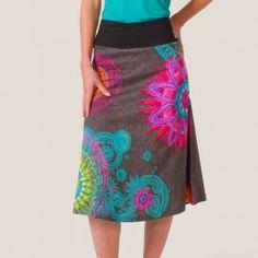 robe wanda gris coton du monde boutique en ligne de v tements ethniques pour femmes on adore. Black Bedroom Furniture Sets. Home Design Ideas