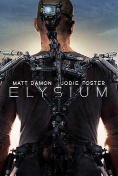 1er trailer de #Elysium, interpretada por Matt Damon, Jodie Foster y Diego Luna, del productor de District 9