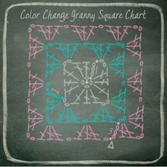 How to read a crochet chart