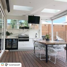 "T&M Cabinetry | Geelong on Instagram: ""[ FINISHED PRODUCT ] Imagine the Friday knock-off drinks that could be enjoyed in this space!! Always a pleasure working alongside…"" #outdoorkitchen"