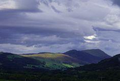 Perthshire Hills, Blair Atholl, Killiecrankie Scotland...