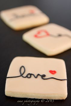 Valentines Day Cookies. $14.00, via Etsy.