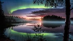 ***Aurora (Finland) by Asko Kuittinen 🇫🇮 Aurora Borealis, See The Northern Lights, Amazing Nature, Belle Photo, Pretty Pictures, Amazing Photos, Night Skies, Beautiful World, Wonders Of The World