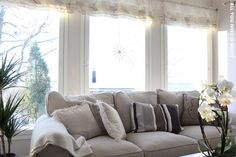 Sofa, Couch, All You Need Is, Cottage, Curtains, Furniture, Home Decor, Settee, Settee