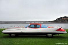 Supercar - 1955 Ghia Gilda Streamline X Coupé