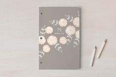 Flora + Stripe Day Planner, Notebook, or Address Book by Laura Hankins at minted.com