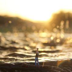 Shine on you crazy diamond... Sigue brillando... P.D: para escuchar una parte de la canción en Stories  . . . . #enelbosque #pequeñoshabitantes #pequeñosmundos #shine #pinkfloyd #shineonyoucrazydiamond #miniature #miniaturas #minimalpeople #paradise #sunset #nature #skyporn #atardecer