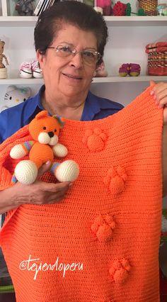 Colcha con huellas de gato tejida a crochet paso a paso (especial para CATLOVERS)