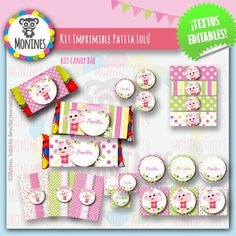 Patita Lulú Canciones Del Zoo Holiday Decor, Frame, Party, Malu, Home Decor, Ideas, Themed Birthday Parties, Birthday Images, Picture Frame
