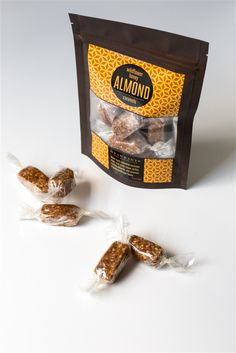 Wildflower Honey-Almond Caramels