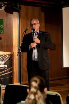 Antonio Lapa, Diretor da EPYX Soluções Editoriais, encerra o evento. Foto: Patrícia Bruni.