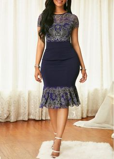 New womens african fashion . Short African Dresses, Latest African Fashion Dresses, African Print Dresses, African Print Fashion, Women's Fashion Dresses, Casual Dresses, Mode Glamour, African Traditional Dresses, African Attire