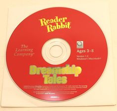 Reader Rabbit Dreamship Tales PC Game Disk And Sleeve By The Learning Co #TheLearningCo Pc Game, Rabbit, Learning, Games, Store, Sleeve, Ebay, Pc Games, Rabbits