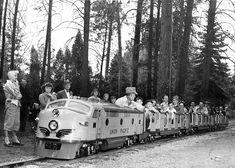 Spokane's Natatorium Park - Miniature Train