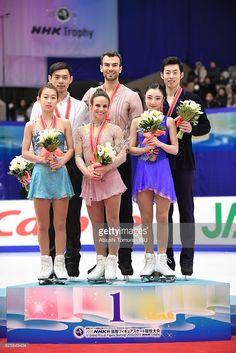 News Photo : Cheng Peng and Yang Jin of China , Meagan Duhamel...