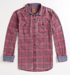 Modern Amusement Cliff Long Sleeve Woven Shirt - PacSun.com