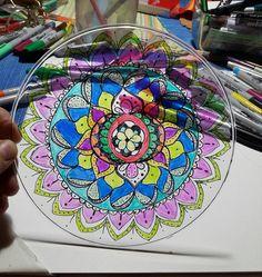 Drawn with sharpie on plexiglass