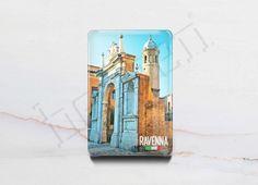 Italy Epoxy Fridge Magnet - Ravenna Series. Manufacturer Besgen Inc. #backhome #fridgemagnets #magnets #traveldiaries #lovelylife #gifts #giftshop #photoholder #magnet #giftingideas #giftingsolutions #quirkygoods #ravenna #italy