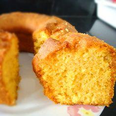 Bolo de milho (Brazilian-style corn cake)