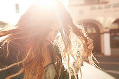 Deixe o sol tocar seu rosto e iluminar o seu dia!